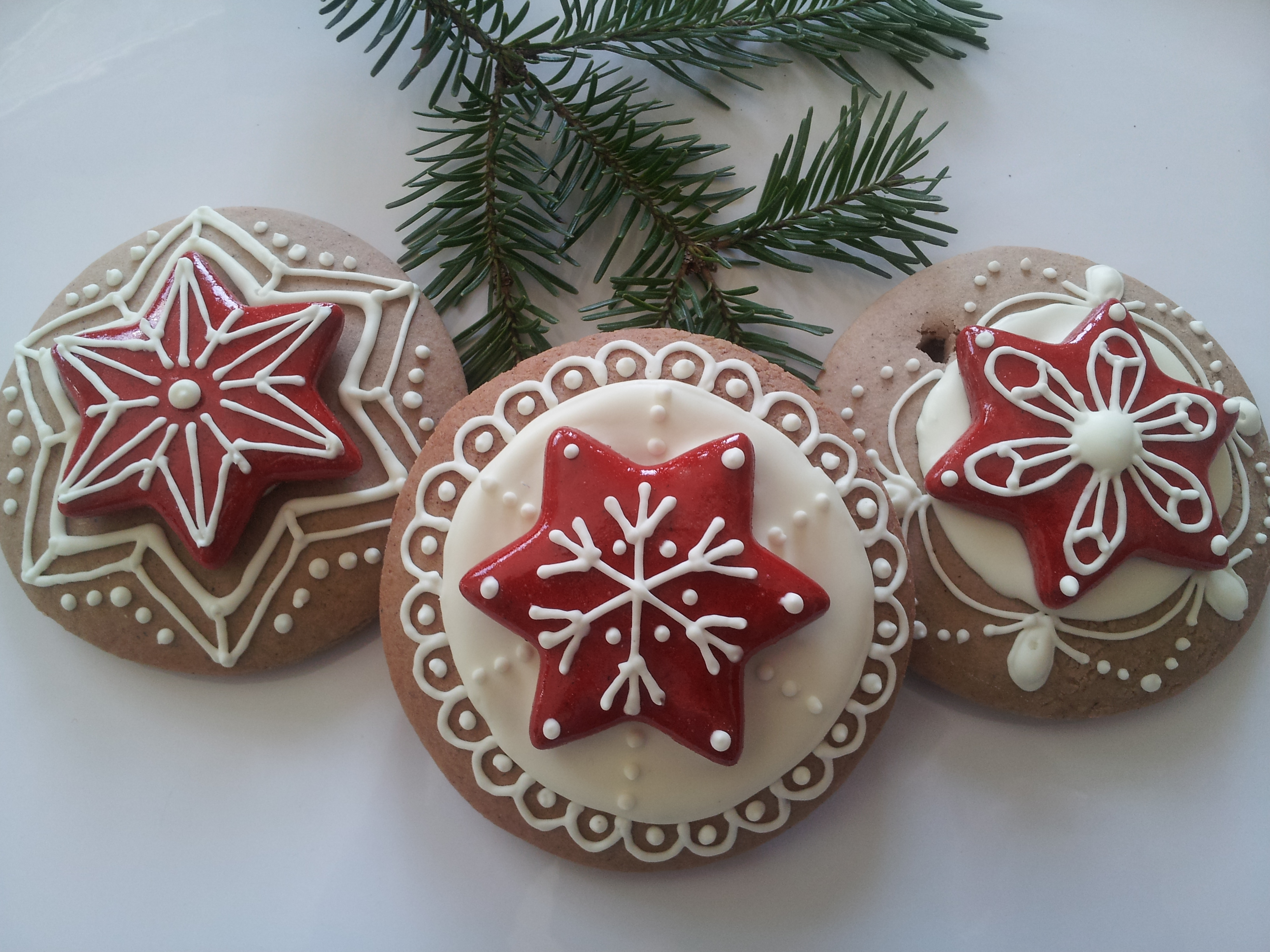 gingerbread christmas ornaments - Gingerbread Christmas Tree Decorations